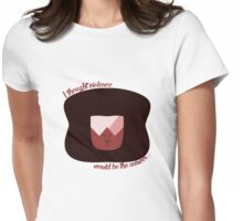 Garnet is Helping Womens Fitted T-Shirt