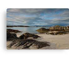 Arisaig Beach  Canvas Print
