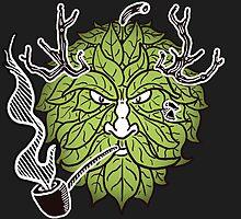 Hop Head Green Man by rkrisstewart