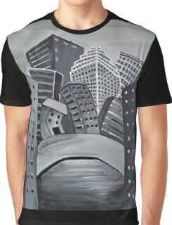 Nightfall in the City Graphic T-Shirt