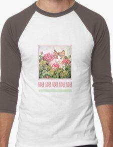 Baby Blossom, Kitten Men's Baseball ¾ T-Shirt