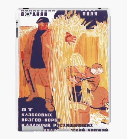 Soviet Propaganda  iPad Case/Skin