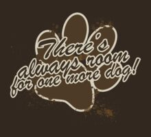 There's always room for one more dog T-Shirt