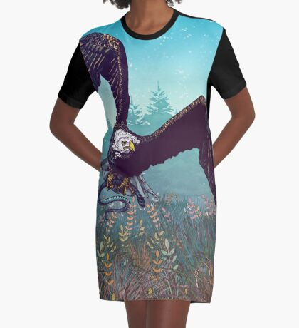 The Hunt Graphic T-Shirt Dress
