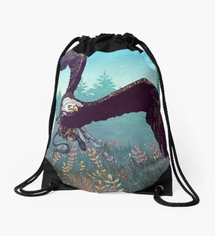 The Hunt Drawstring Bag