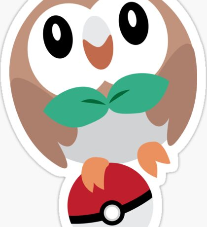 I choose you, Rowlet! Sticker
