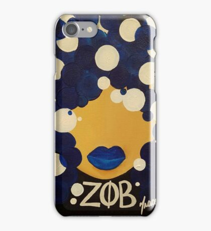 Zeta Phi Beta Diva #2 iPhone Case/Skin