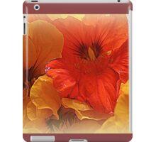 Nasturtium Macro iPad Case/Skin