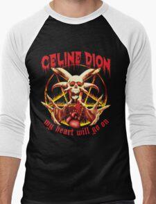 My Heart Will Go on Metal Shirt Men's Baseball ¾ T-Shirt