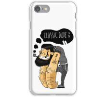 Classic dude iPhone Case/Skin