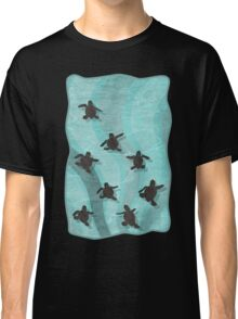 Loggerhead Sea Turtle Hatchlings Classic T-Shirt
