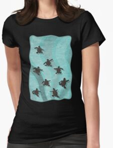 Loggerhead Sea Turtle Hatchlings T-Shirt