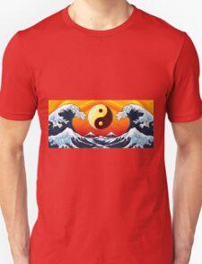 Ying Yang Sunrise Unisex T-Shirt