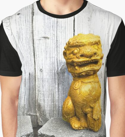 Chinese Luck Dragon Graphic T-Shirt