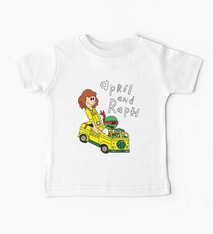 April and Raph Baby Tee