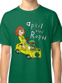 April and Raph Classic T-Shirt