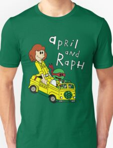 April and Raph Unisex T-Shirt