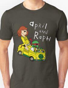 April and Raph T-Shirt