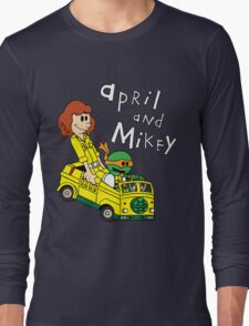 April and Mikey Long Sleeve T-Shirt