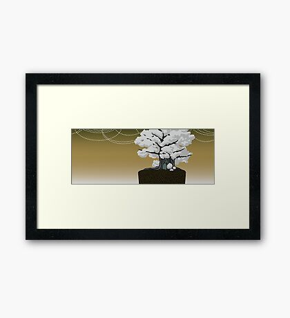 The Great Boggly Tree Framed Print