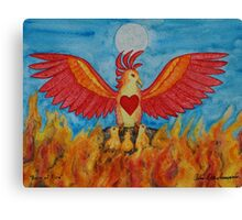 Born of Fire Canvas Print