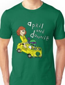 April and Donnie Unisex T-Shirt