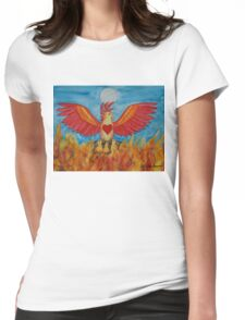 Born of Fire Womens Fitted T-Shirt