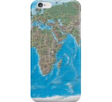 Geography cheat iPhone Case/Skin