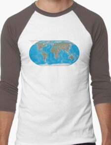 Geography cheat Men's Baseball ¾ T-Shirt