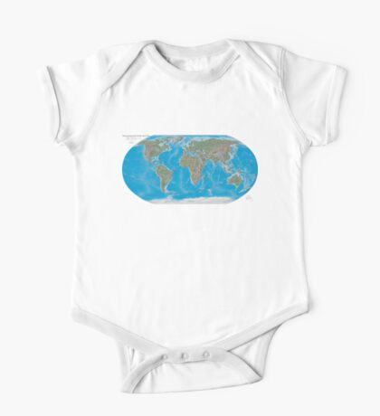Geography cheat One Piece - Short Sleeve