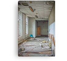 Visiting Time at the Asylum Canvas Print