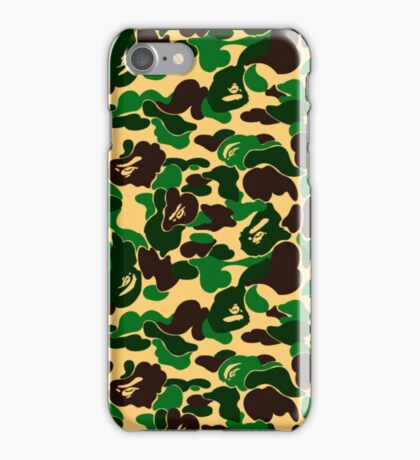 Bape Camo iPhone Case/Skin