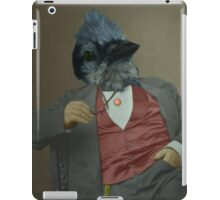 Gentlemen's club of exquisite plumage. iPad Case/Skin