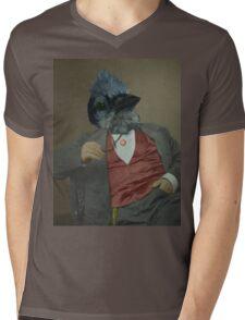 Gentlemen's club of exquisite plumage. Mens V-Neck T-Shirt