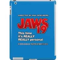 Jaws 19 - This time it's really really personal (Back to the Future) iPad Case/Skin