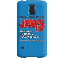 Jaws 19 - This time it's really really personal (Back to the Future) Samsung Galaxy Case/Skin