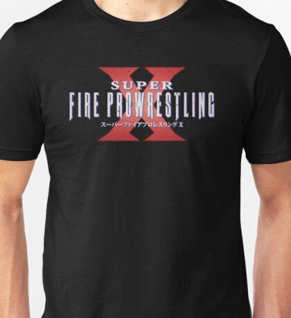 Super Fire Pro Wrestling X - V2 (VINTAGE) Unisex T-Shirt