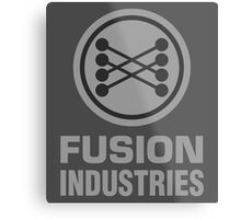 Fusion Industries - Back to the Future Metal Print