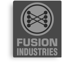 Fusion Industries - Back to the Future Canvas Print