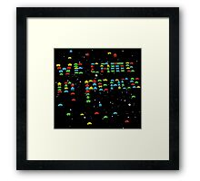 we came in peace Framed Print