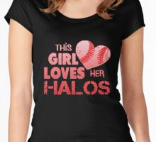 Angels Love Their Halos Women's Fitted Scoop T-Shirt