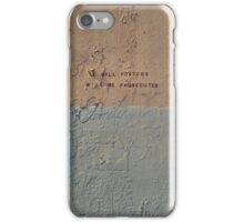 Bill Posters iPhone Case/Skin