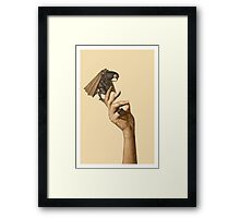 Are you afraid of God? Framed Print