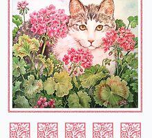 Baby Blossom, Kitten by BDMillustration