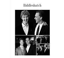Benedict Cumberbatch and Tom Hiddleston Photographic Print