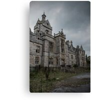 Welcome to the Asylum Canvas Print