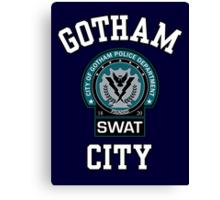 Gotham City Police SWAT Canvas Print