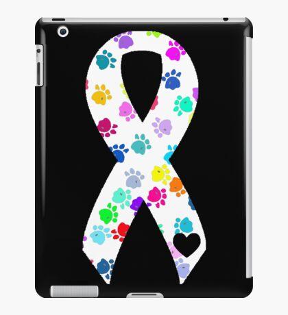 Pawprint Ribbon iPad Case/Skin