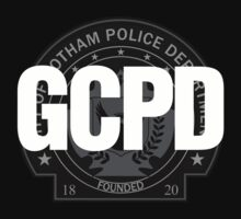 GCPD - Gotham Police (Grey) by Cinerama