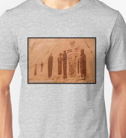 Great Gallery Pictographs 4 - Canyonlands - Utah Unisex T-Shirt